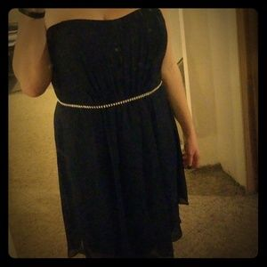 BNWT formal bridesmaid navy blue dress